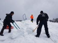 BPOLP Potsdam: Bundespolizei hilft beim Schneechaos in Berchtesgaden
