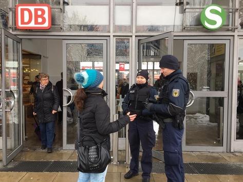 Bundespolizeidirektion München: Schwerpunkteinsätze im Rahmen der Ausbildung – Bundespolizei verstärkt in Freising, Dachau und Pasing unterwegs