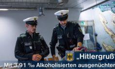 """Bundespolizeidirektion München: Alkoholisierter zeigt """"Hitlergruß"""" - Mit 3,91 Promille im Schnellrestaurant aggressiv"""