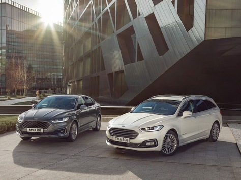 Ford Mondeo: Umfangreich aufgewertet mit neuem Hybrid-Kombimodell, modernen Motoren und 8-Gang-Automatik