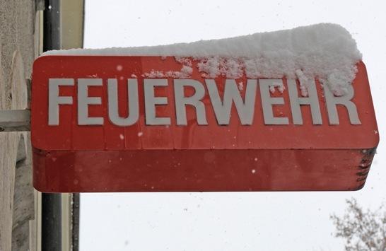 FW-M: Stadtgebiet bleibt vom Schneechaos verschont