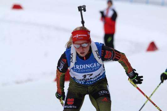 Biathlon Weltcup Sprintrennen