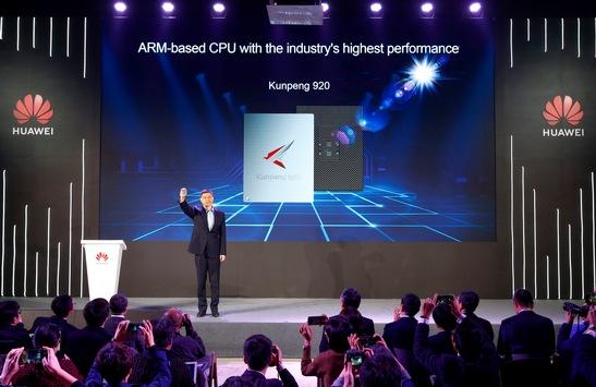 Huawei stellt die leistungsstärkste ARM-basierte CPU der Branche vor