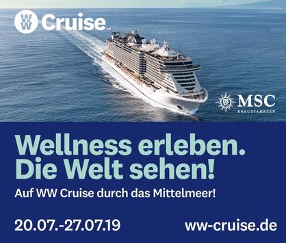 WW Cruise – Wellness erleben und die Welt entdecken