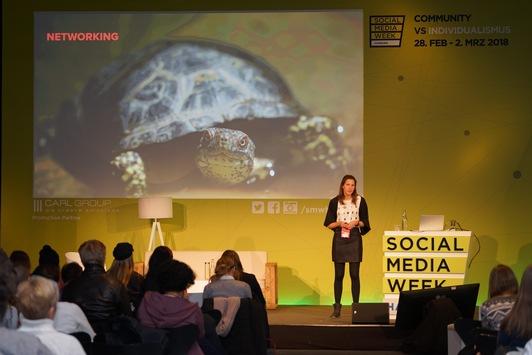 Programm ab 12. Januar online: Social Media Week Hamburg stellt Storytelling und das Spannungsfeld zwischen Reichweite und Verantwortung ins Zentrum der Diskussion