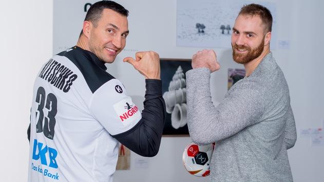 Schlagabtausch zwischen Handball-Ass Wolff und Box-Champion Klitschko
