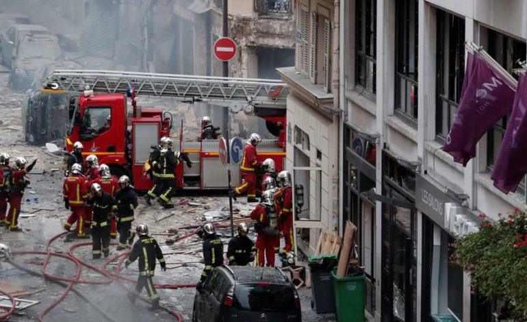 Explosion in der Pariser Innenstadt