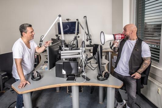 """""""Kaiser und Krause – die neue BB RADIO-Samstagmorgenshow"""" mit Marcus Kaiser und """"Tattoo""""Krause"""