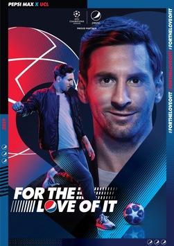 "Leo Messi und Mohamed Salah gehen ""All-in"" – Pepsi MAX präsentiert globale UEFA Kampagne 2019 #FORTHELOVEOFIT"