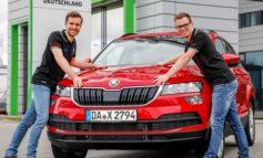 SKODA AUTO Deutschland startet mit Fabian Kreim und neuem Copiloten in die Rallye-Saison 2019