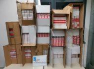 HZA-B: Die Ladefläche voller Schmuggelzigaretten /Berliner Zoll stellt 130.000 unversteuerte Zigaretten sicher