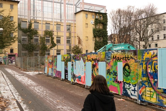 Berliner Studenten helfen in Kreuzberger Obdachlosenunterkunft