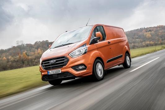 Ford glänzt 2018 mit weiterem Rekordjahr auf dem deutschen Nutzfahrzeug-Markt