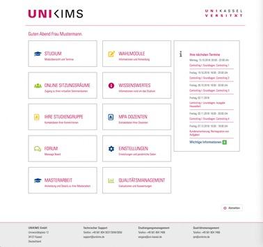 Wie studiert es sich auf einem ecampus? / Die Management School der Universität Kassel gewährt Einblicke