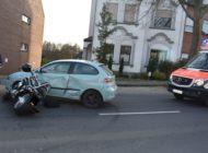 POL-MG: Wetschewell - Motorradfahrer beim Wenden übersehen