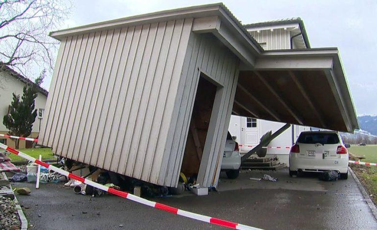 «Das Dach wurde angehoben und krachte zurück auf die Mauern»