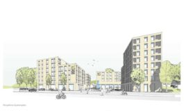 Städtebaulicher Wettbewerb von Lidl und Stadt Esslingen entschieden: Pesch Partner Architekten Stadtplaner gewinnt / Planungen für nachhaltige Lidl-Filiale und Stadtteilentwicklung beginnen