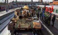 Moskaus Trophäen-Zug rollt durchs Land
