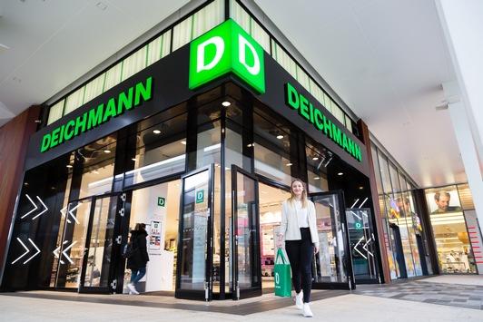 Wachstum gegen den Branchentrend im schwierigen Modemarkt: DEICHMANN-Gruppe mit größter Akquisition der Firmengeschichte / Start in China, Dubai, Estland, Lettland / Starke Expansion in den USA