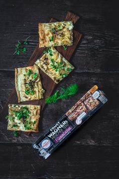 """Frisch aufgetischt: Pizza- & Snackspezialist Wagner startet in neuer Kategorie und präsentiert erstmals """"ERNST WAGNERs Frischer Teig"""" im Kühlregal"""