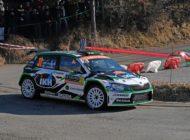 Rallye Frankreich: SKODA Werksfahrer Kalle Rovanperä will die Führung in WRC 2 Pro-Kategorie