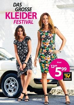NKD zelebriert den Sommer – Das große Kleider Festival von NKD