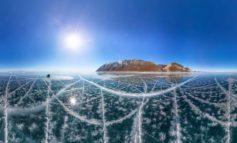 """Die Doku-Serie """"World's Most Extreme"""" ab 1. Mai auf WELT: Der Baikalsee - ein Versuch der Natur, alle Rekorde zu brechen"""