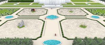 Mahnung gegen die Zerstörung der Natur: Daniel Libeskind entwirft Skulpturen für niederländische Palastgärten von Paleis Het Loo / Prinzessin Beatrix eröffnet Ausstellung am 2. April