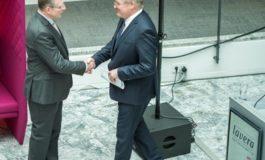 Hannover wird natürlich schön / lavera verlegt Firmenzentrale nach Hannover / Firmengründer Thomas Haase eröffnete mit Festredner Minister Dr. Althusmann das neue Verwaltungsgebäude im Herzen Hannovers