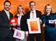 myPKFiT gewinnt den VISION.A Award 2019 / Bronze für myPKFiT in der Kategorie Apps & Co. für Verbraucher