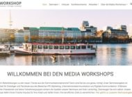 Media Workshop Website erstrahlt in neuem Glanz