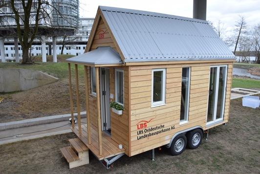 Tiny-House der LBS auf Tour