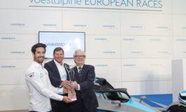 """Trophäe für besten Fahrer der Formel E """"voestalpine European Races"""" feiert Weltpremiere in Wien"""