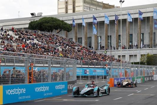 voestalpine European Races: Mitch Evans gewinnt Rom E-Prix