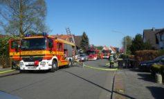 FW Bremerhaven: Garage brennt in Speckenbüttel