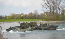 Im Sturmangriff über die Donau