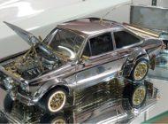 Ford Escort-Modellauto aus Gold, Diamanten und Silber - voraussichtlich hoher Erlös bei Online-Auktion