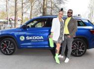 Glamourös und gut vernetzt - SKODA chauffiert die Social Media-Stars
