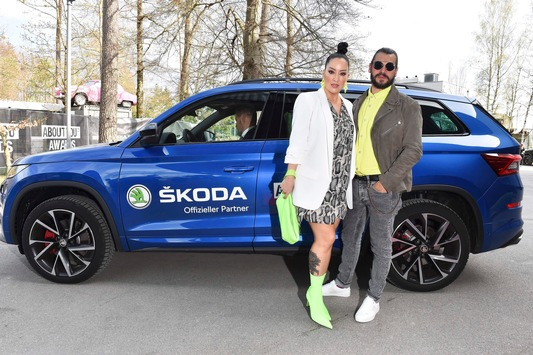Glamourös und gut vernetzt – SKODA chauffiert die Social Media-Stars