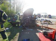 POL-ROW: Schwerer Verkehrsunfall auf der Autobahn 1. Unfallverursacher flüchtet.