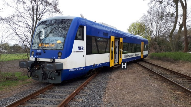 BPOLD-B: Zug am Bahnhof Joachimsthal entgleist