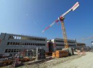 NORMA Frankreich: Der Discounter hat seine neue Landeszentrale mit Logistikzentrum im Rohbau fertiggestellt! / Nürnberger Handelsunternehmen feiert großes Richtfest im Nachbarland