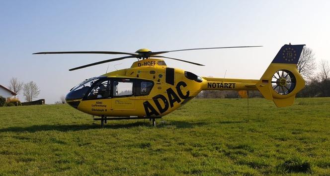 FW-EN: Landeplatzsicherung eines Rettungshubschraubers