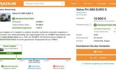 TRADUS auf dem Vormarsch mit Preistransparenz für gebrauchte Nutzfahrzeuge