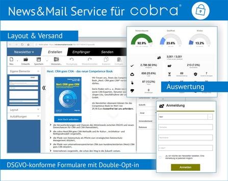 News&Mail Service von cobra / Mit neuen Features alle Potenziale heben