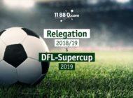 11880 Solutions AG wirbt als offizieller Partner bei Bundesliga-Relegationsspielen und Supercup 2019