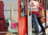 Bundespolizeidirektion München: Vermisste E-Gitarre wieder da - Ehrliche Finderin gibt Musikinstrument ab