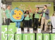 Bundesweite 72-Stunden-Aktion in Würzburg eröffnet / Rund 85.000 angemeldete Teilnehmende / Aktionsgruppen hoffen auf Unterstützung