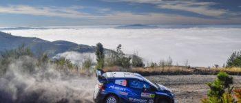 M-Sport Ford fährt mit beiden Fiesta WRC in Chile unter die besten Fünf