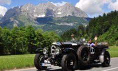 Rollende Automobilgeschichte. Kitzbühleler Alpenrallye auf Tour